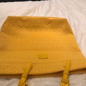 Brand new!! Yellow MK tote